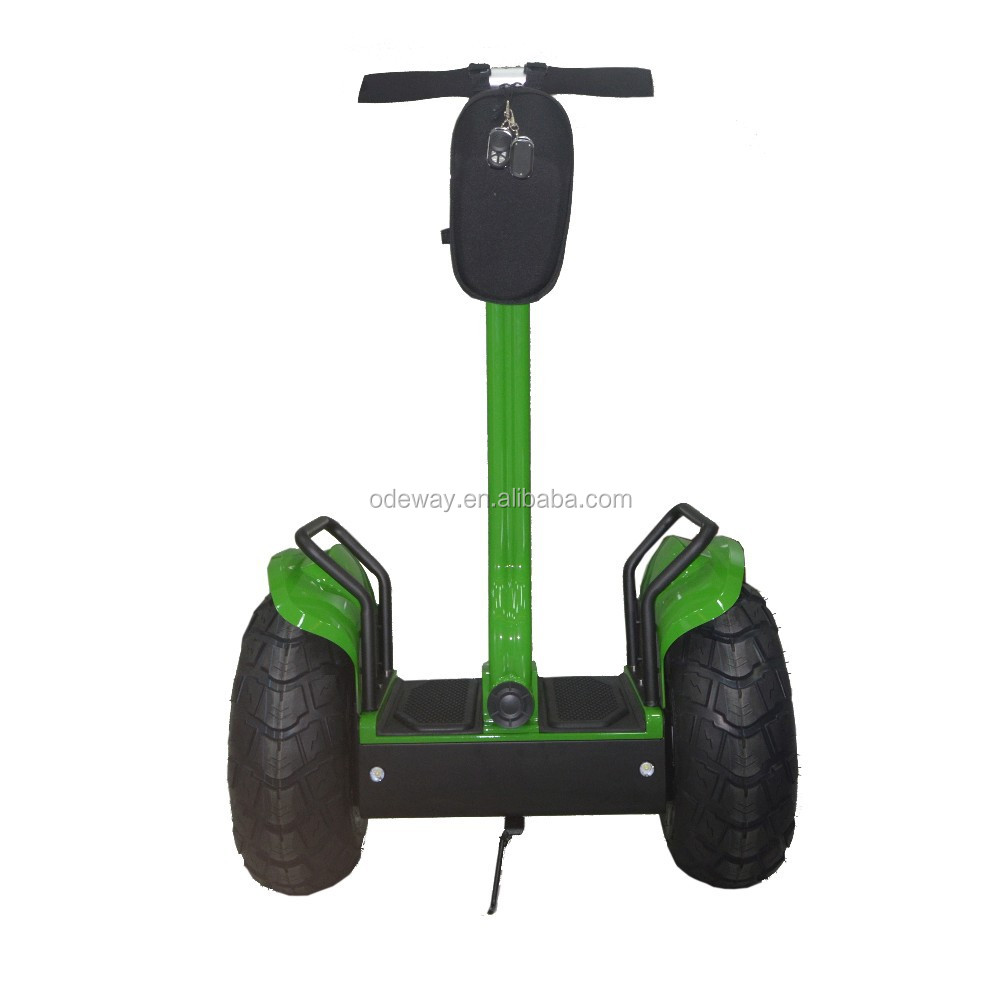 High quality 72V 2000W large wheel off road kick scooter