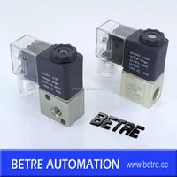 2V025-08 two way direct acting air solenoid valve DC24V AC220V