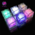LED Ice Cubes Color Changing Light Colorful Decorative LED Flash Light Submersible Liquid Sensor LED Glow Light for Wedding