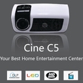 Mini LED Projector C5 - Analog TV Projector