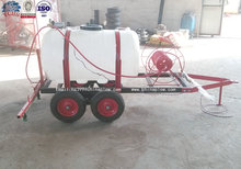 Agricultural spray machine tractor trailed ATV 400L mini boom spryer
