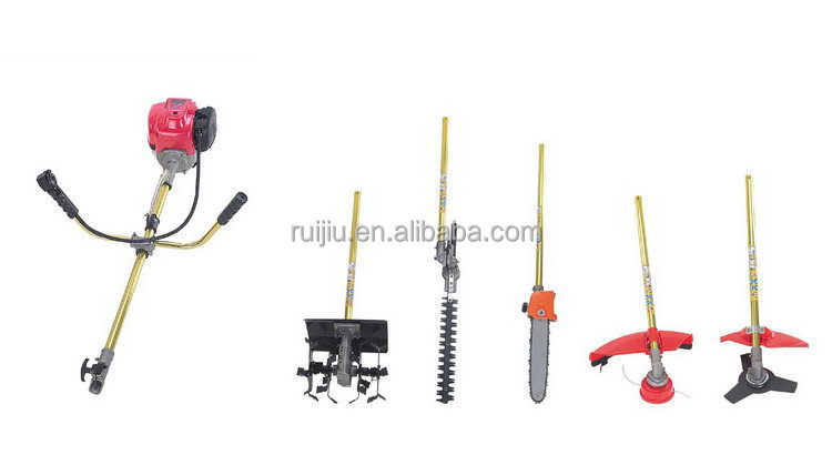 Design cheapest 0.9kw/7500r/min gx35 brush cutter cam wheel