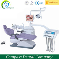 Hot sale Roson Brand Dental unit, High quality Electricity dental chair,luxury dental chair with ultrasonic scaler and LED Curin