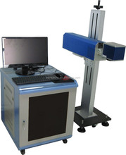 CO2 laser marking machine can mark date/flower/mark on leather/wood/plastic etc with advanced parts