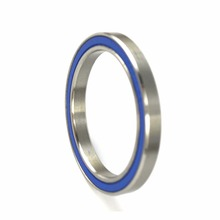 Stainless steel ring ball bearing with blue rubber seals 6914 for making machine