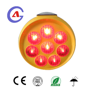 LED Solar Beacon Flashing Safety Warning Light