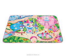Digital Print Design Kid Non Slip Protective Carpet Soft Play Mat