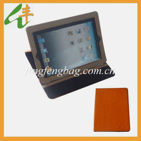 2014 orange pu leather 13 inch tablet pc case