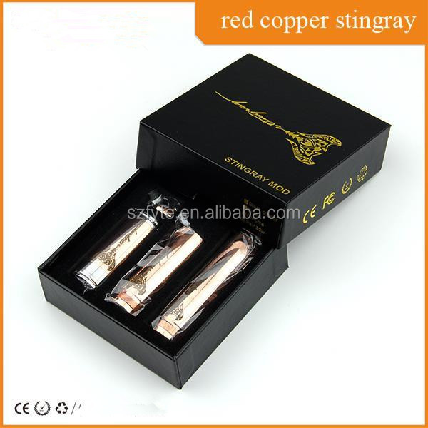 Wholesale in Alibaba Infinite red copper stingray mechanical mod yellow cooper stingray mod black cooper stingray mod in stock