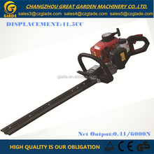 Double Blades 22.5cc Hedge Trimmer Reciprocating Type with G23 Gasoline Engine For Garden Tools