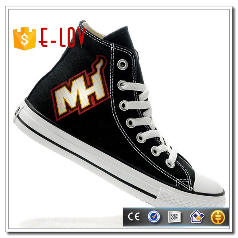 Most popular nice style light comfortable high top flat sport shoes men