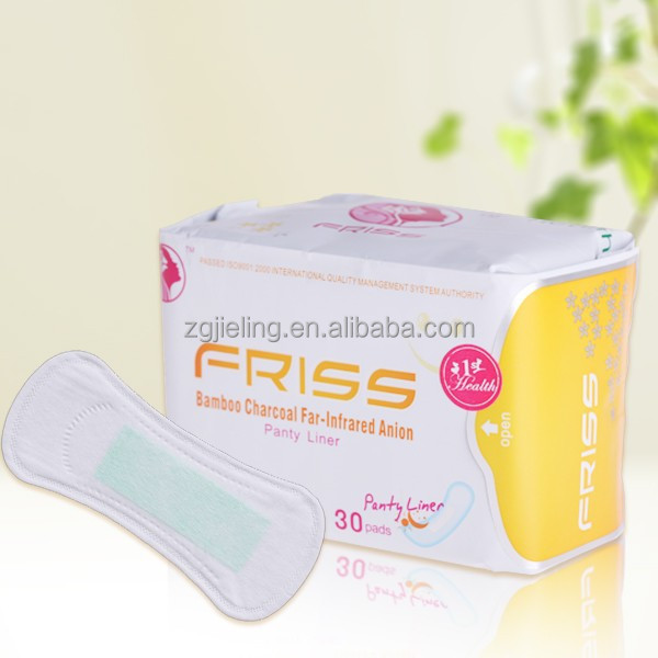 FRISS brand 2015 new type anion lady panty liner 155MM daliy use