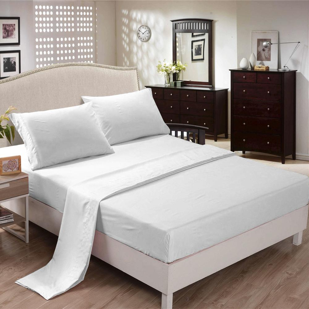 Wholesale microfiber king bed <strong>sheet</strong> fitted <strong>sheet</strong> for home and hotel