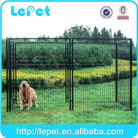 wholesale Large outdoor galvanized expandable dog fence/dog run fence panels/kennel for dog