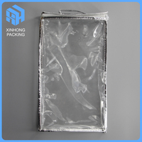 pvc clear zipper bags for travelling/plastic pvc cosmetic bag with zip lock/clear pvc handle bags