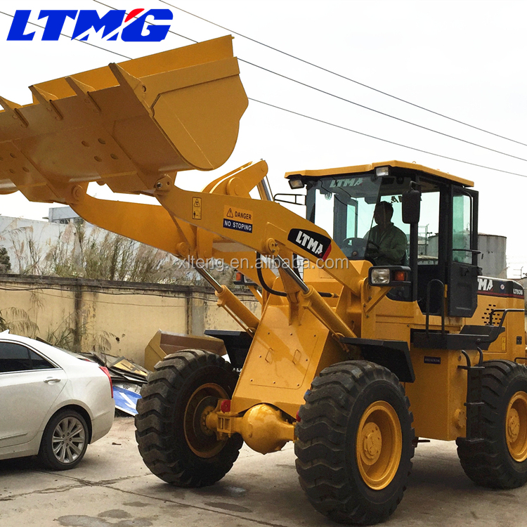 Competitive price 3 ton wheel loader zl30 front end boom loader for sale