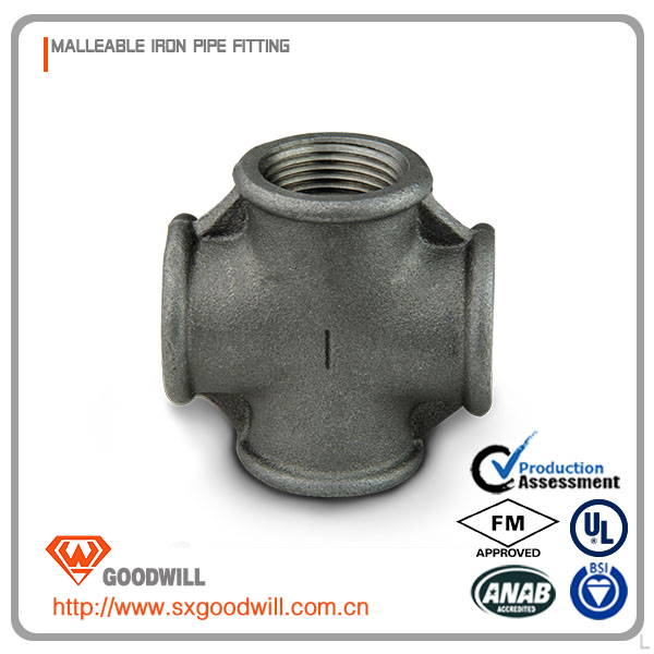 malleable cast iron hex nippels