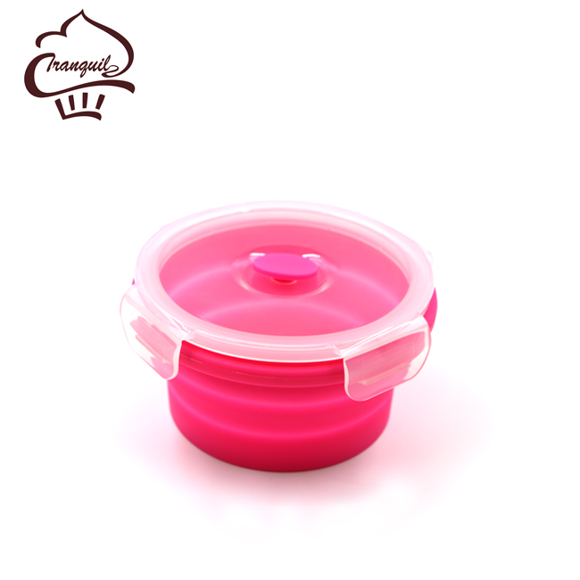 High quality colorful lunch box microwave silicone lunch box dinnerware