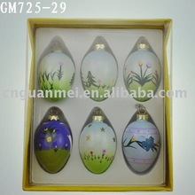 a set easter egg/ester decoration