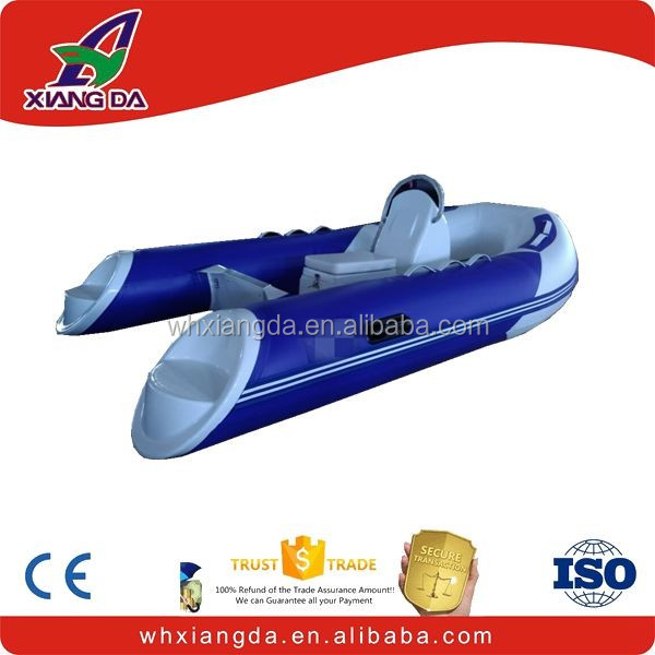 Center console inflatable rib frp boat