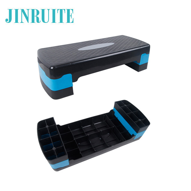 10/15cm height adjustable step workout aerobic stepper