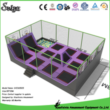 China high quality fitness mini trampoline with safety net