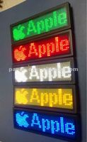 (Direct Manufacturing) LED famous brand sign,led workder name badges,Usb rechargeable LED name tag