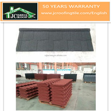 Spanish Style Stone Coated Metal Tiles Cheap Roofing Materials