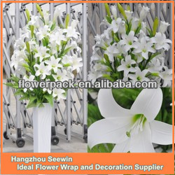 Single Soft Real Touch Artificial Lily Flower