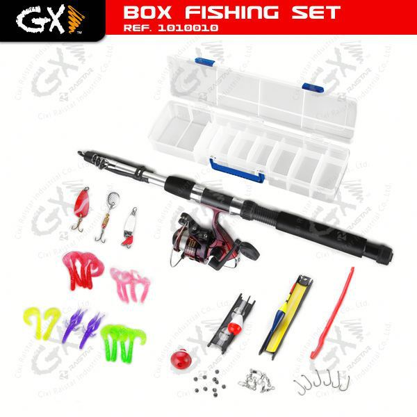 China Box Fishing Set and Fishing Tackle Set and fly dubbing twister