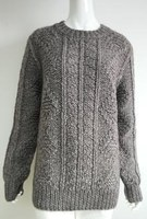 Fashion long sleeve hand knit cool pullover winter clothing sweater