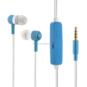 2017 new design stereo color change LED cheap colorful earphones