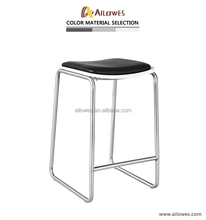 Stainless steel stool bar chair
