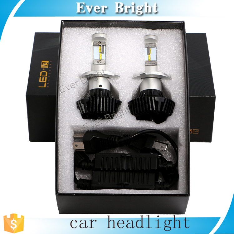 New latest auto led work fog light bulb H4 H13 9005 9006 car led headlight bulb headlight 4000LM 48W auto led light