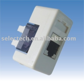 RJ45 Keystone Jack/CAT5E/CAT6 /modular connector/ 6 pin pcb rj45 connector SE-NE-171