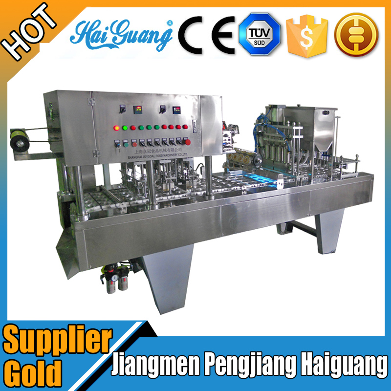 Manufacture Price Plastic Cup Packaging Filling/Cup Filling And Sealing Machine Malaysia