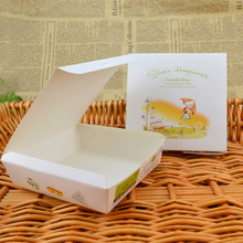 disposable logo printed corrugated white cardboard paper pizza boxes