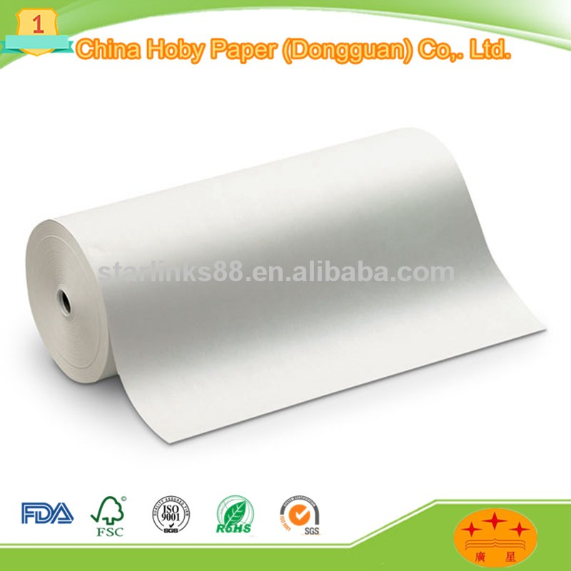 110gsm with best price Recycled white kraft paper rolls wholesale