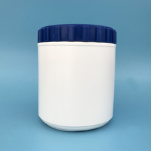 1000ml high grade HDPE plastic protein jar