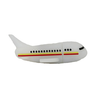 Promo Plane Shape PVC USB Flash Drive 16GB