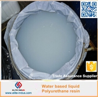 Water based liquid PU resin for Specular water-based permeable floor paint