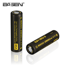 Basen 18650 Battery BS186H 18650 2800mAh 80A 3.6v Li-ion Rechargeable Battery 18650 for dewalt tools
