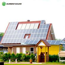 Best quality 5000w solar panels system 5kw solar system off grid for industrial
