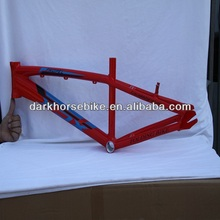 New style red BMX bike frame 16/20inch aluminum ally 6061