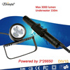 Most powerful 3000 lumen 20W cree led underwater torch light