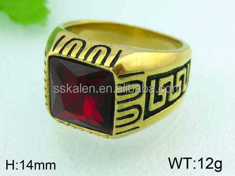 Made in China hot sale in the world gold ring name designs
