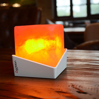 Design Himalayan LED salt lamp- nature air purifier -best for gift-home decor- NUPTSE