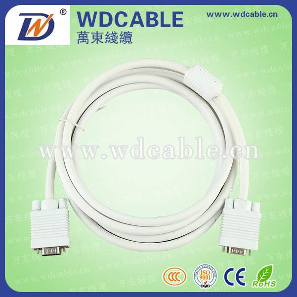 vga male to male cable for pc tv
