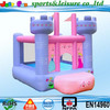 2015 cheap pink Inflatable bouncer, inflatable moonwalks for toddlers, mini inflatable bouncer