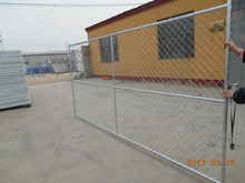 Factory Low Price US Style Chain Link Wire Mesh Fence